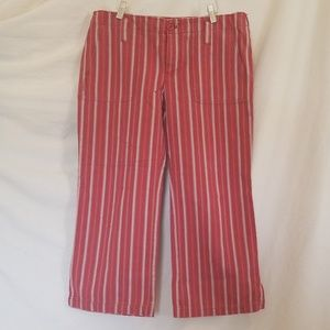 American Eagle Cropped Wide Leg Pants Size 8